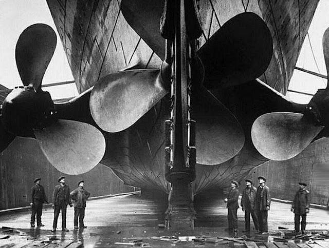 Grandes estructuras históricas en construcción Fotograf%25C3%25ADas+de+la+construcci%25C3%25B3n+del+Titanic+20