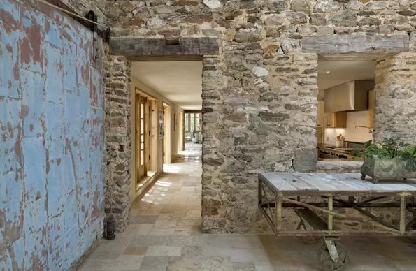 Un faro de ideas casa de campo en filadelfia - Piedra para interior ...
