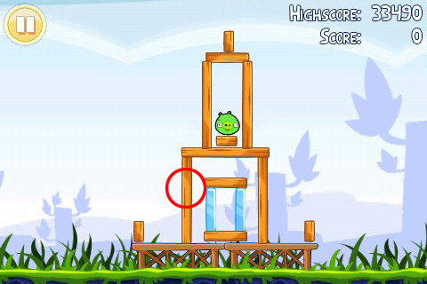 Angry Birds 1-1 Poached Eggs Walkthrough