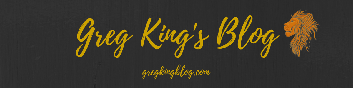 Greg King's Blog