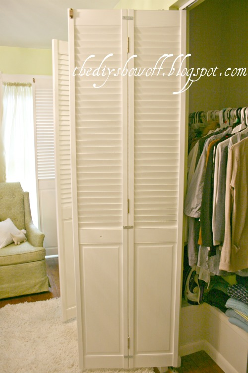 Diy Project Parade Closet Doors How To Turn Bifold Doors Into