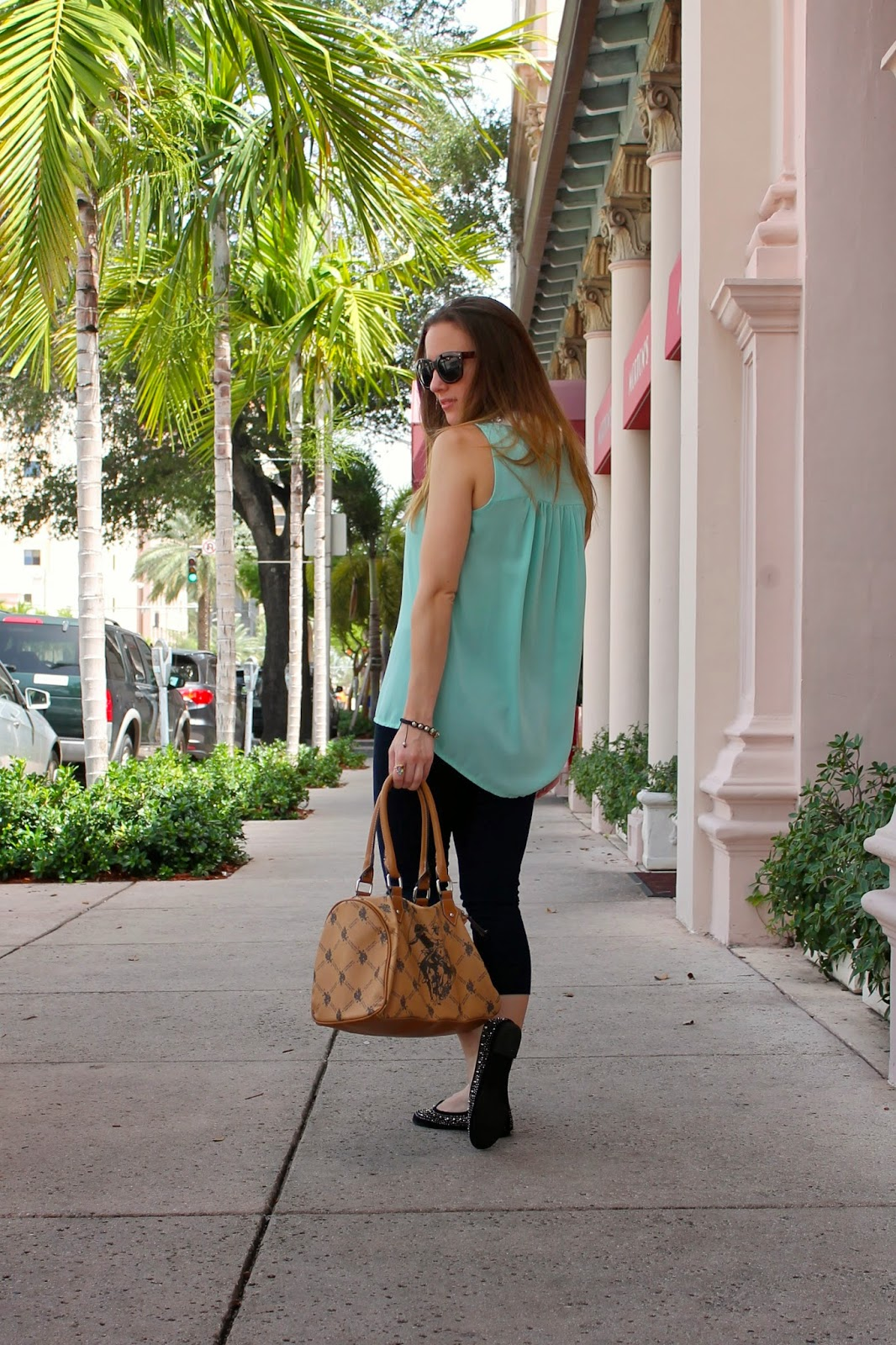 Franchesca's, Lysse, Nordstrom, classic, prep, Miami, fashion blog, southern, Target, driver's flats, studded, ootd, Miami fashion blog, style blog, style, fashion
