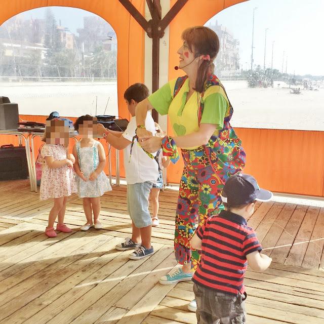 Animación infantil en Sanlúcar de Barrameda
