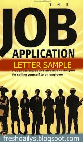 How to Write Standard Job Application Letter / Job Letter Format