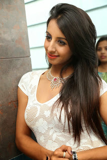 Actress Sanjjanaa  Pictures in Short Dress at Sapphire Spa Launch  18.JPG