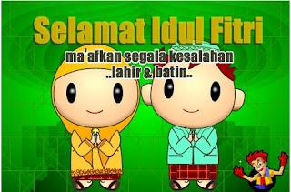 Ucapan Selamat Lebaran Idul Fitri 2013