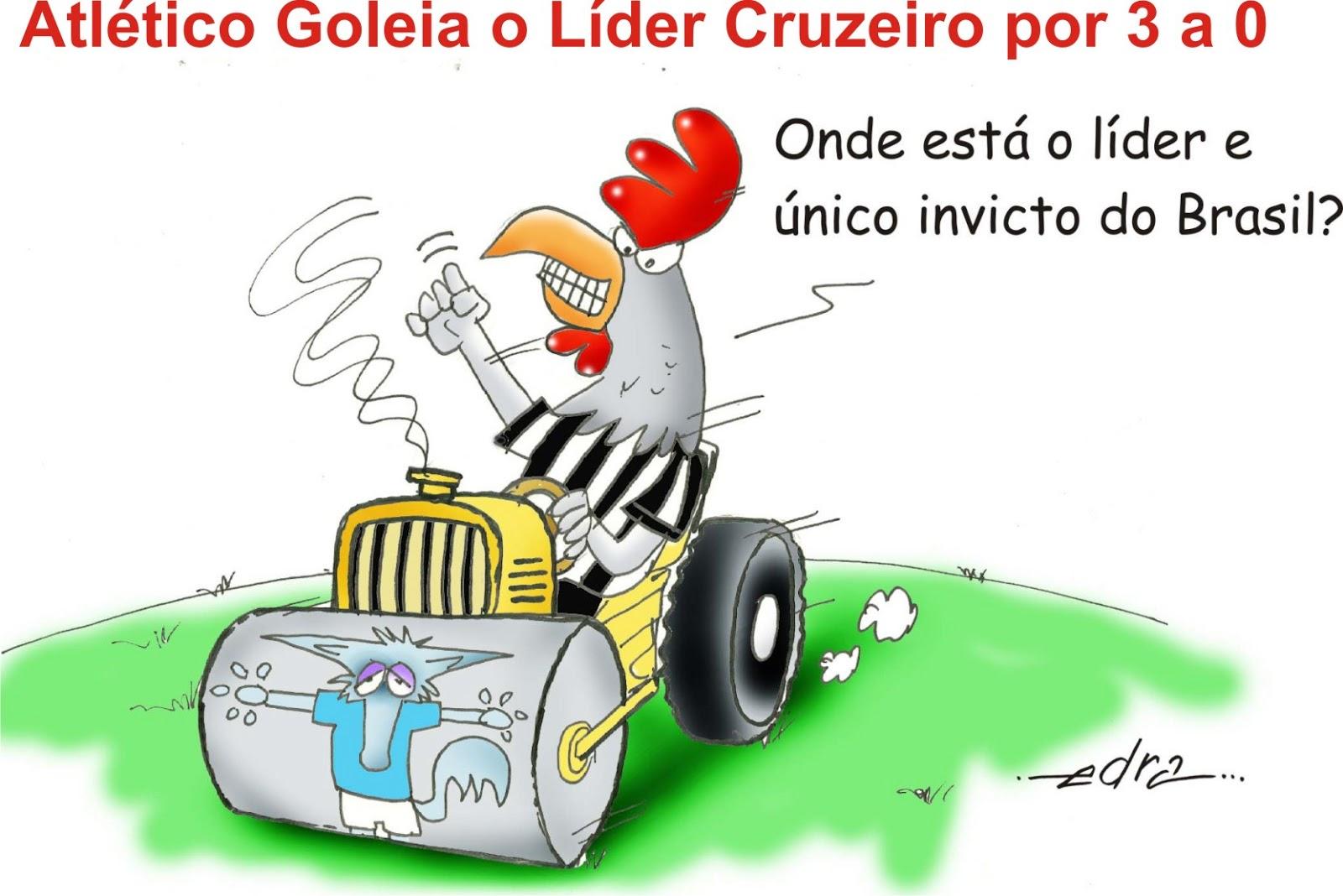 Atl  Tico Goleia Por 3 A 0 No Independ  Ncia O Arqui Rival Cruzeiro  O