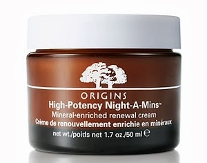 Origins Night-A-Mins renewal cream