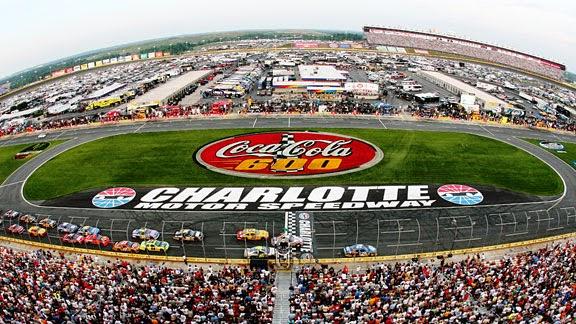 Speedway Christmas Setup Underway at Charlotte Motor Speedway