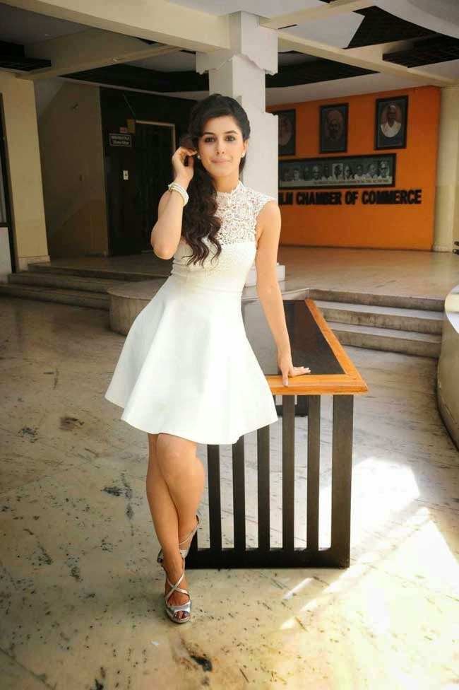 Isha Talwar In White Dress