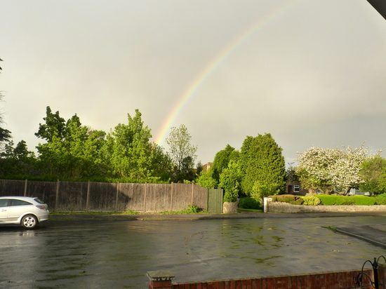 Whoopidooings: Rocking My World Friday - Rainbow after the rain