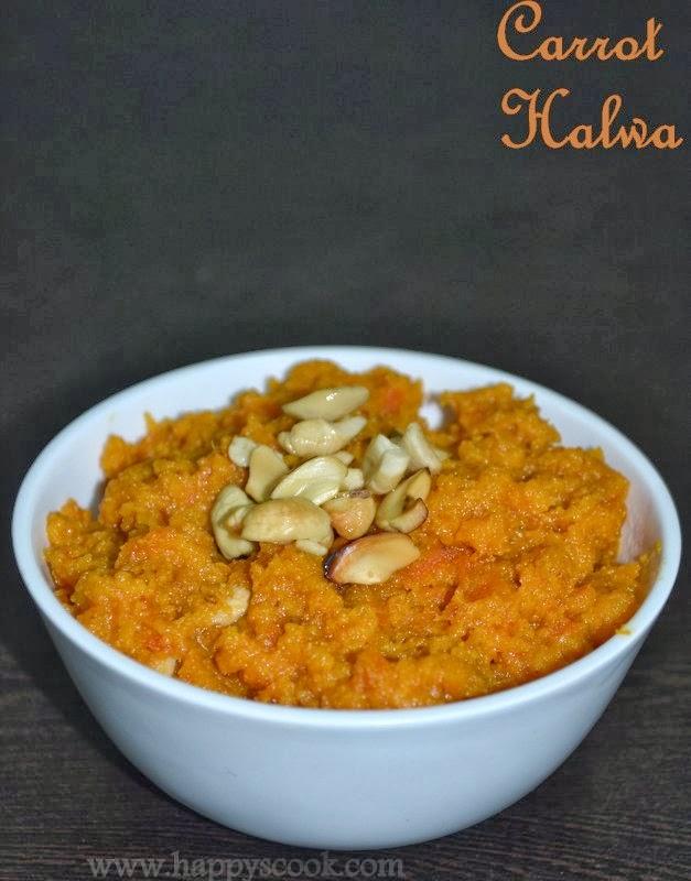 Carrot Halwa Recipe/Gajar ka halwa| Diwali Special Recipes ...
