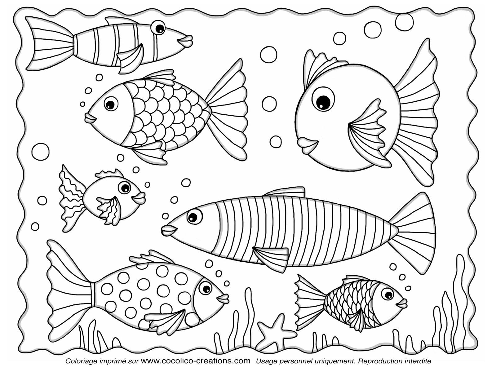 Exceptionnel cocolico-creations: Des poissons à découper pour le 1er avril WA12