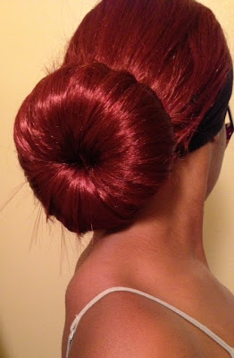 ... doesn t like a lovely bun buns are classy easy and fun and a red bun