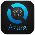 Azure Blue Theme CM10.1/AOKP apk