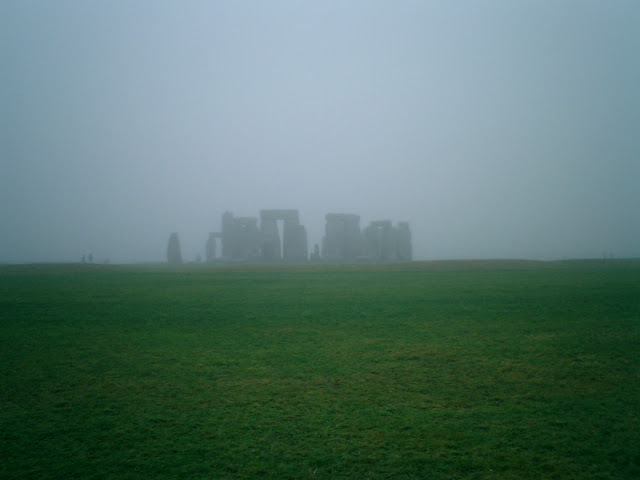 Early Morning Mist at Stonehenge
