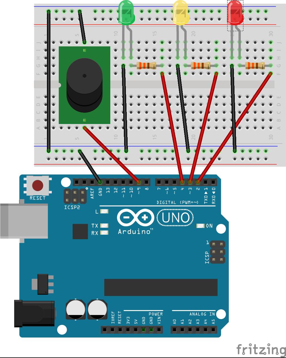 Schema Elettrico Per Semaforo : Arduino per principianti progetto semaforo non vedenti