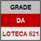 LOTECA 621 - MINI GRADE COMPLETA