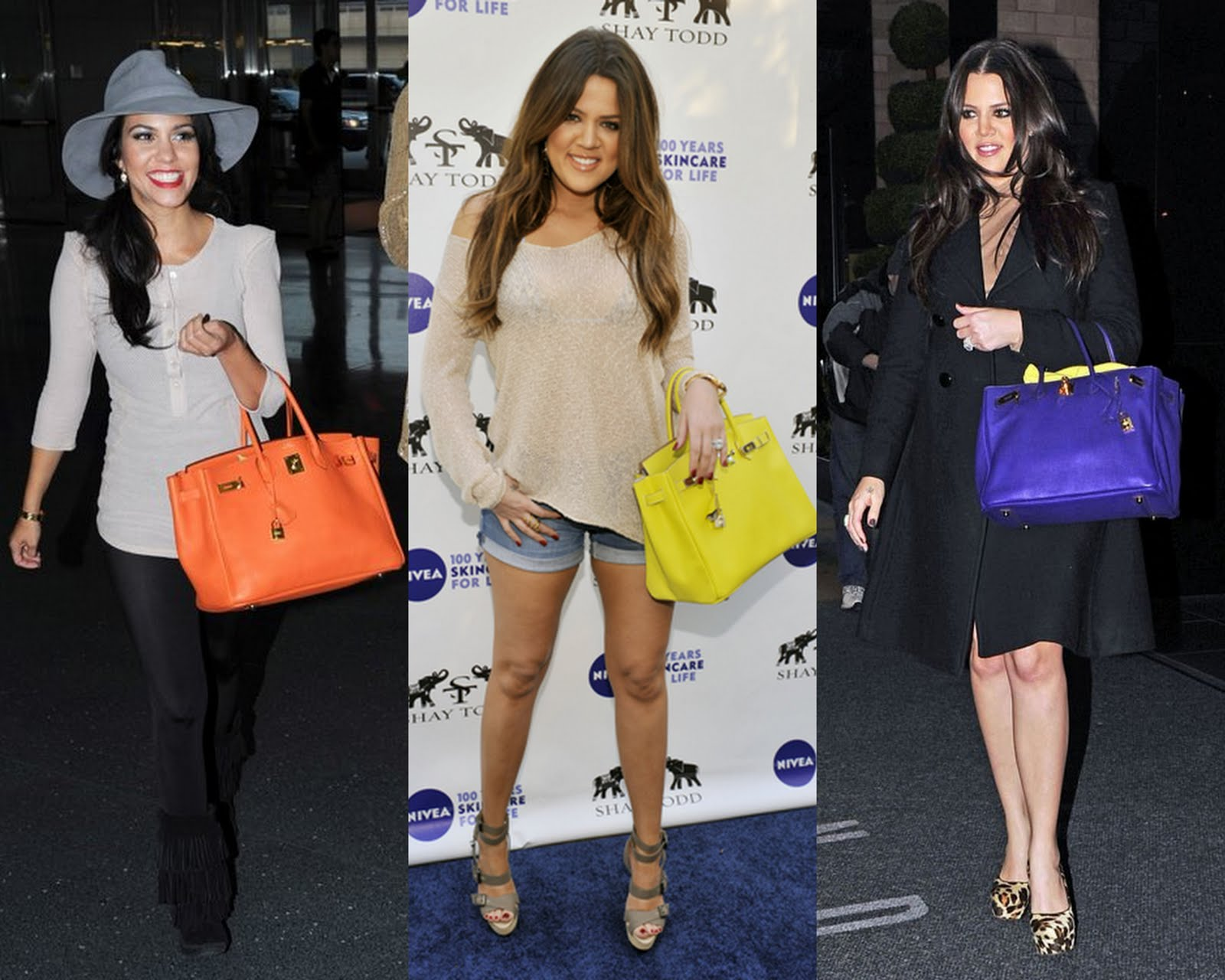kelly purse - Frills and Thrills: Keeping Up With The Kardashians \u0026amp; Their Birkin ...