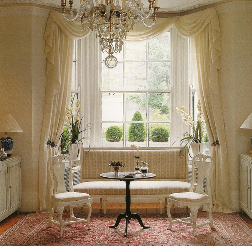 Dec-a-Porter: Imagination @ Home: Classical Curtains: Then