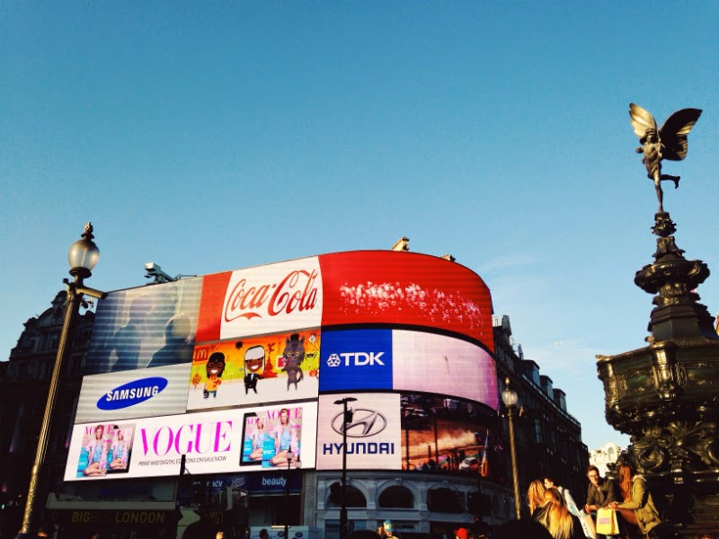 piccadilly billboard London