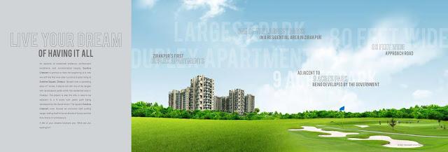 SUSHMA CRESCENT Zirakpur 3BHK, 4BHK Flats