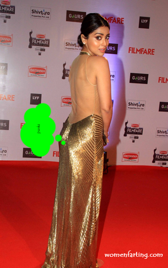 Shriya Saran farting from her perky