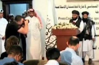 AS Murka Taliban Buka Kantor & Kibarkan Panji Imarah Islam di Qatar