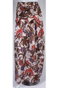 Rok Batik Cantik Rika - Coklat Merah Kombinasi (Toko Jilbab dan Busana Muslimah Terbaru)