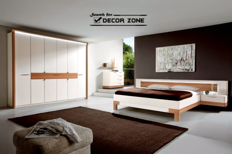 15 bedroom designs and ideas in high tech style for Decoration zone