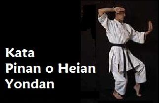 Kata Pinan o Heian Yondan.