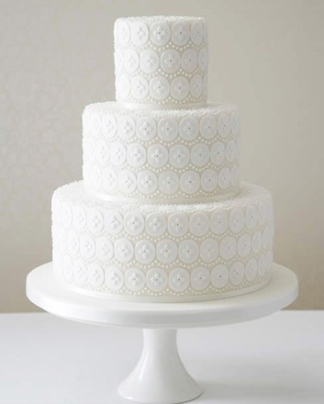 Cake Design In 2018 : Cake Trend 2018: Lace Wedding Cakes Celebrate Wedding