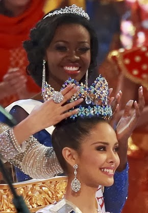 MEGAN  YOUNG  WINS  MISS  WORLD  TITLE!