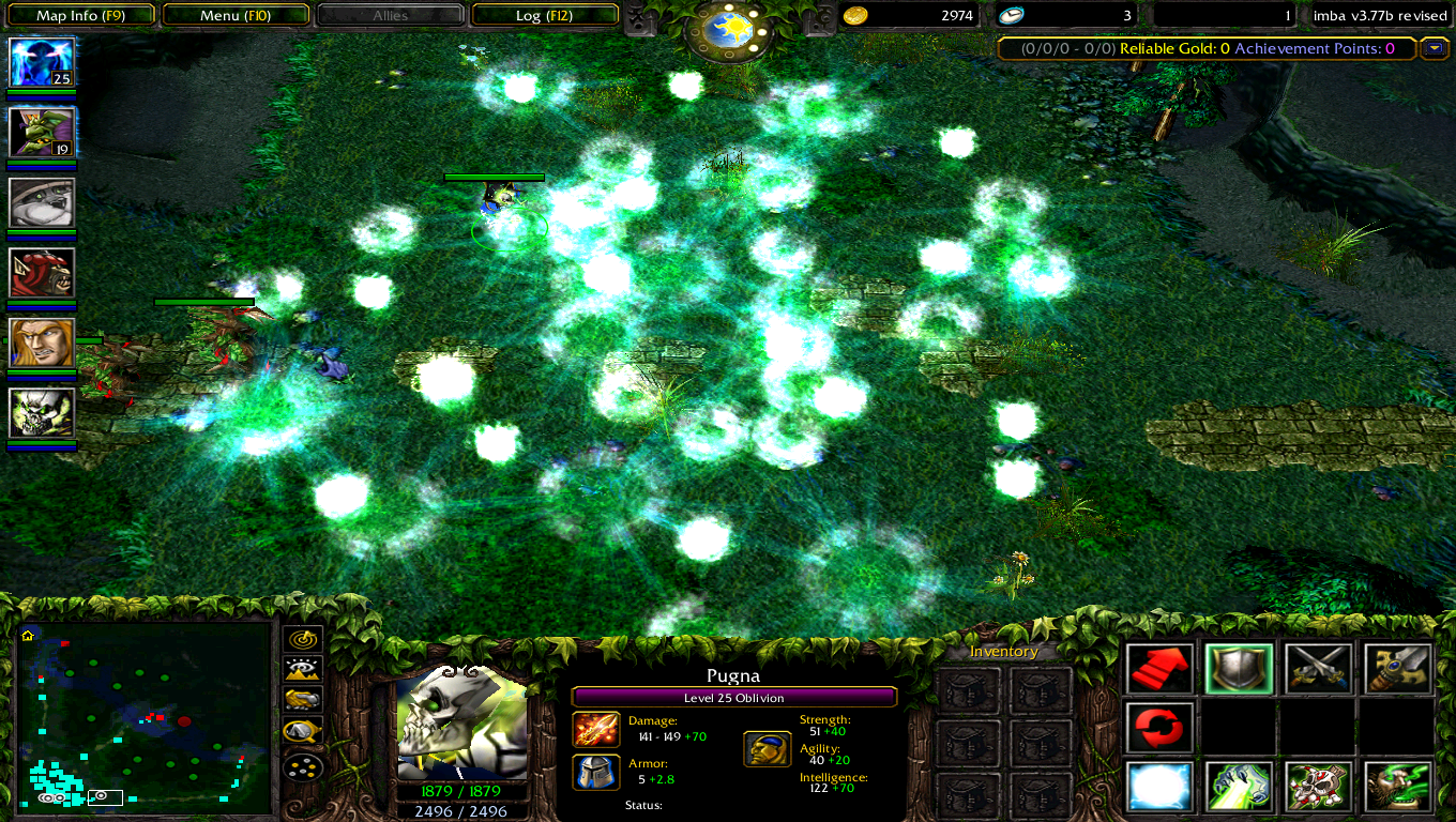 Map DotA IMBA 377b AI EN Download DotA IMBA Map