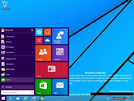 Windows 9 nuovo sistema operativo