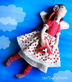 Текстильная кукла, Фея домашнего уюта