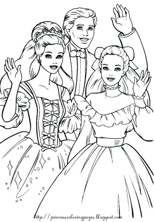 Princess Coloring Pages Full Size : Free coloring page for kids october
