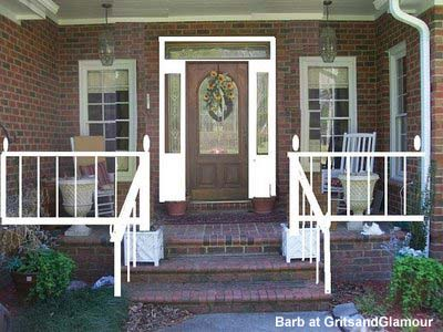 Brick vector picture brick porch designs for Brick porch designs