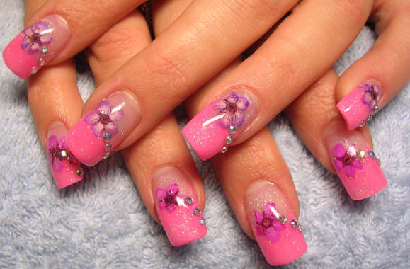 pink nail designs 2012 - Nail Design Ideas 2012