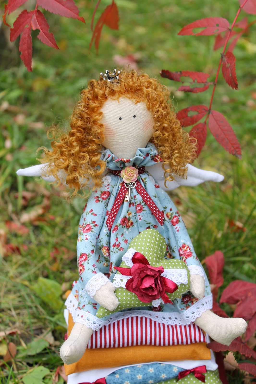 Принцесса на горошине, принцесса, тильда принцесса, тильда, кукла тильда, текстильная кукла, купить игрушку