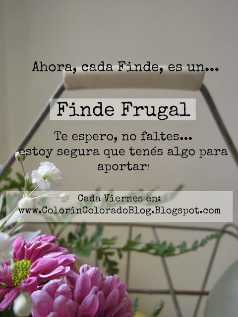 Finde Frugal... Únete!!!!