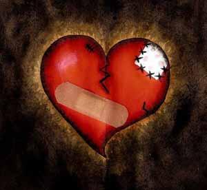 bila hati terluka...sukar untuk menyembuhnya...