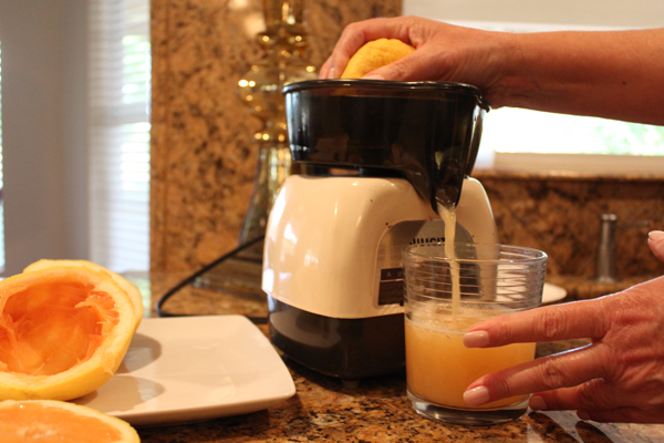 grapefruit st. germaine cocktail