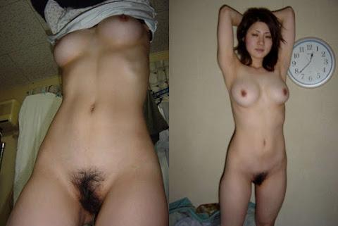 japonesa ou chinesa tirando a roupa