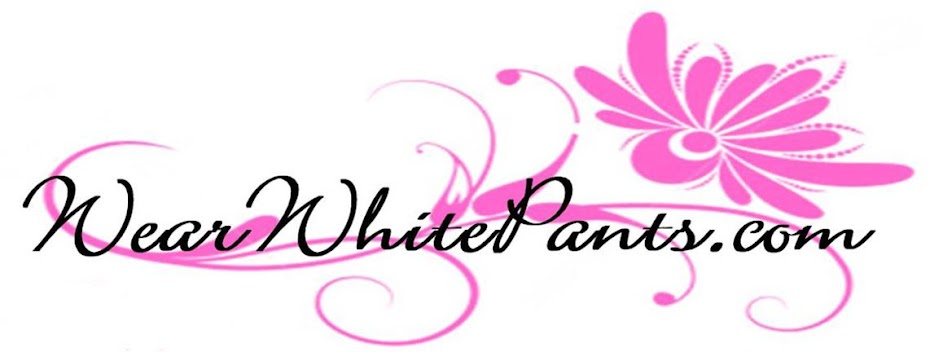 wear white pants