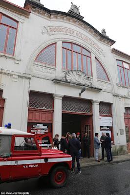 Fotografia do Cine-Teatro dos Bombeiros Voluntários de Vila Praia de Âncora