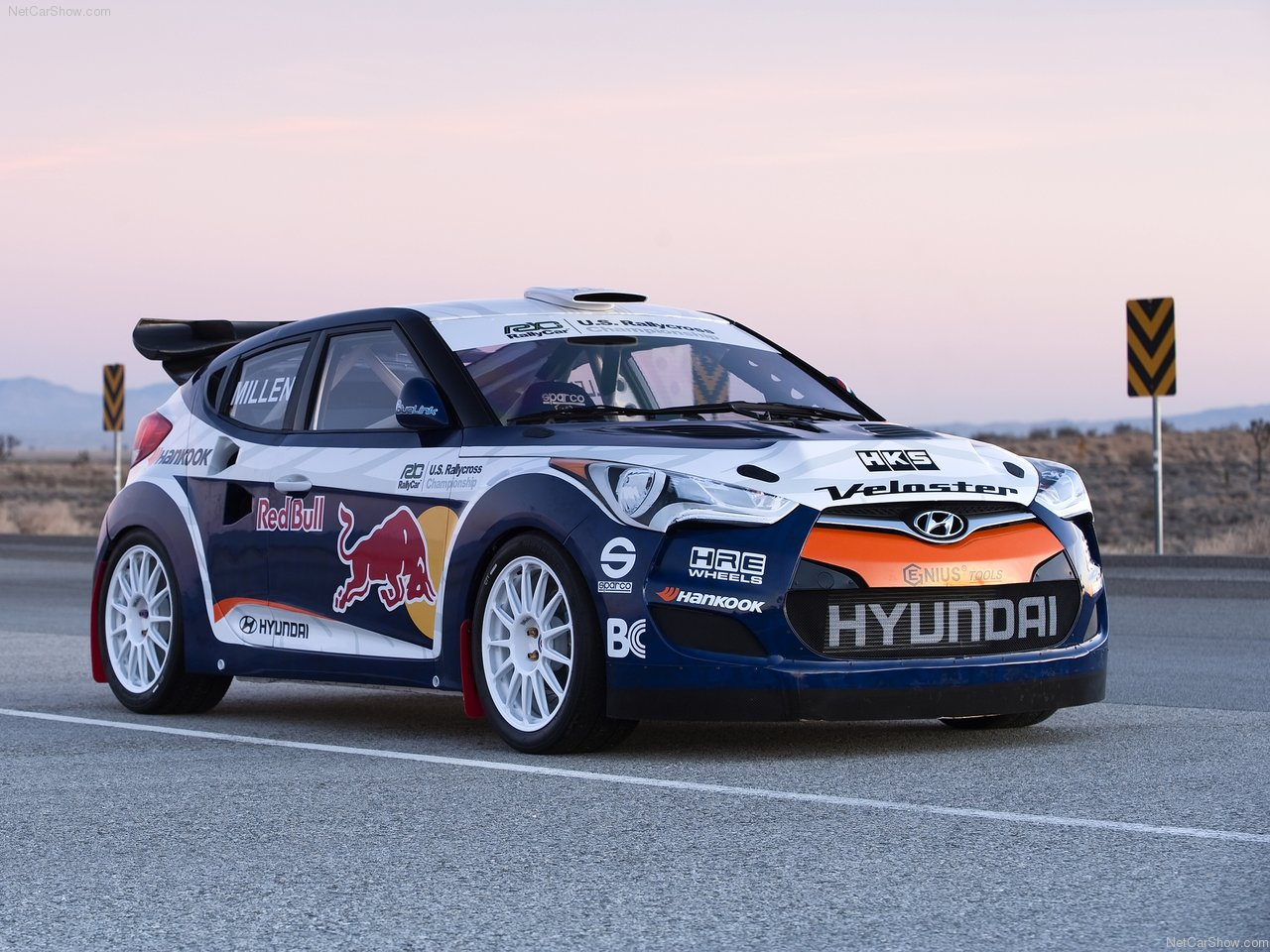 Hyundai Veloster Rally Car (2011) .
