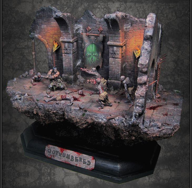 Toycutter Cthulhu Diorama