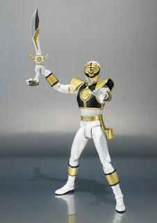 Bandai SH Figuarts Power Rangers White Ranger Figure