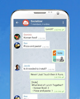 Samsung releases Socializer Messenger for Android